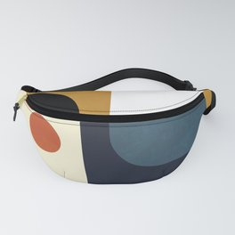 mid century abstract shapes fall winter 4 Fanny Pack