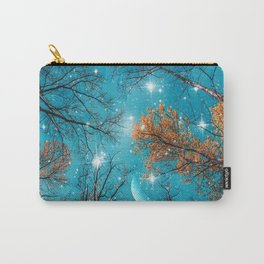 Starry Sky in the Woods Carry-All Pouch