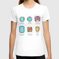 diamonds T-shirts featuring Diamonds by Gabriel J Galvan