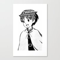 anime Canvas Prints featuring ANIME by PROXIMO