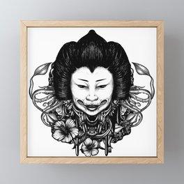 Gueisha Framed Mini Art Print