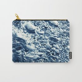 Air bubbles, underwater bubbles Abstract underwater background. Carry-All Pouch