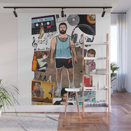 Beard Boy: Music makes the people come together Wall Mural