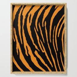 Tiger Stripes Serving Tray