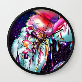 Sweet Galactic Temptation Wall Clock