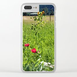 Two Sisters Clear iPhone Case