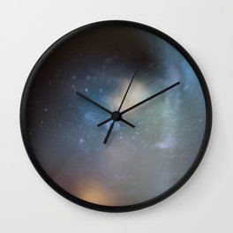 into the world of light Wall Clock