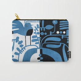 STUDY IN CONTRAST Carry-All Pouch