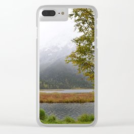 Season's First Snow II Clear iPhone Case