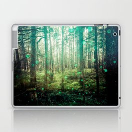Magical Green Forest - Nature Photography Laptop & iPad Skin