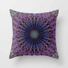 Space structure Throw Pillow