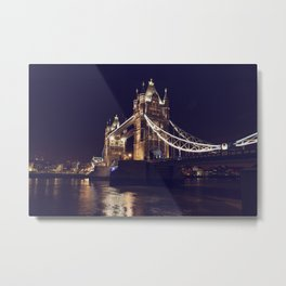 TOWER BRIDGE (London) Metal Print