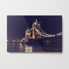 TOWER BRIDGE (London) Metal Print