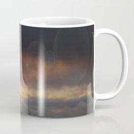 October Cloudy Sunset #decor #buyart #society6 Coffee Mug