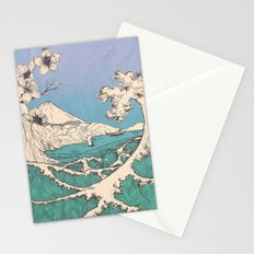 waved Stationery Cards