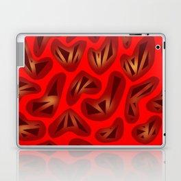 Heartstrings Red Laptop & iPad Skin