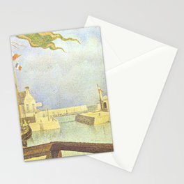 Georges Seurat - Sunday in Port-en-Bessin Stationery Cards