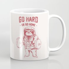 Go Hard or Go Home Sloth Mug