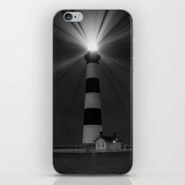 Bodie Lighthouse (B&W) iPhone Skin