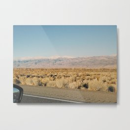 ROAD TRIP V / California Metal Print