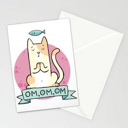 Cat OM Stationery Cards