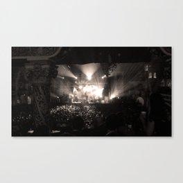 A Concert Canvas Print