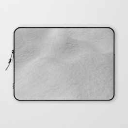 Fresh Snow // Snowy Powder Winter Landscape Photo Snowboarder Vibes Ski Season Poster Laptop Sleeve