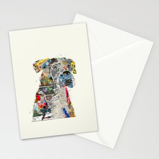the mod boxer Stationery Cards