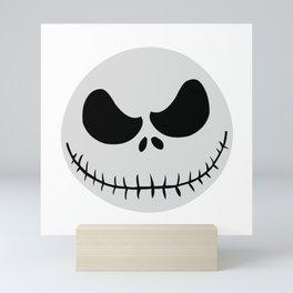 emoticon 2D halloween Mini Art Print