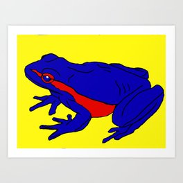 The Beguiling Frog Art Print