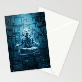 Astro Lotus Stationery Cards