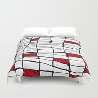 text Duvet Covers featuring text by Ivano Nazeri