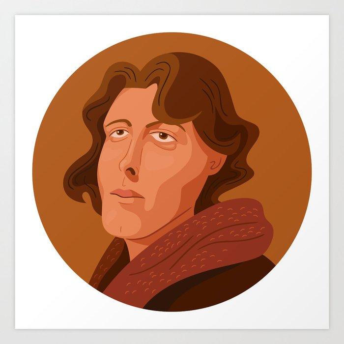 Queer Portrait - Oscar Wilde Art Print