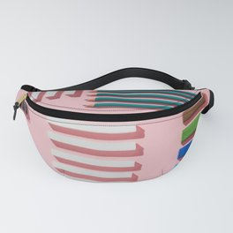 Chalks, pens, pencils and modeling clay Fanny Pack