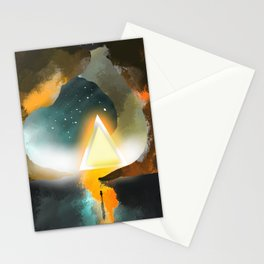 To Worlds Unknown Stationery Cards