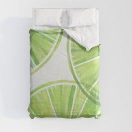 Fresh Lime ~ Summer Citrus Comforters
