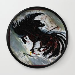 Prancer Pony Wall Clock