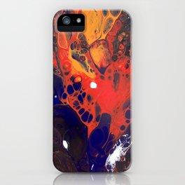 Lava Splash  iPhone Case