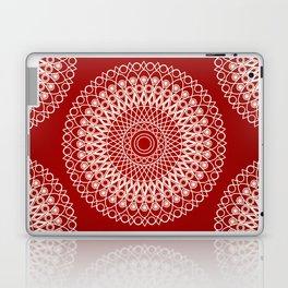 Christmas mandala Laptop & iPad Skin