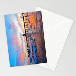 Sunset Huntington Beach Pier  Stationery Cards