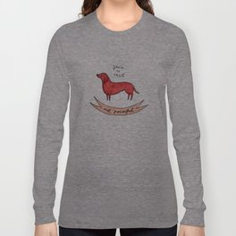 small and powerful Long Sleeve T-shirt