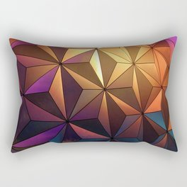 Rainbow Architecture Ball (Color) Rectangular Pillow