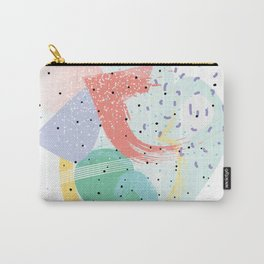 90's abstraction Carry-All Pouch