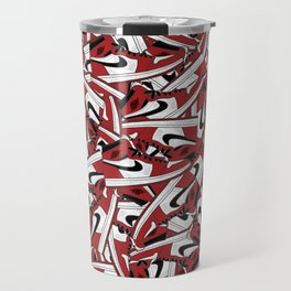 Air Jordan 1 Chi - Collage Print Travel Mug