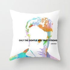 James Dean Quote Throw Pillow