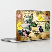 peru Laptop & iPad Skins featuring Correos del Peru by RubenBer