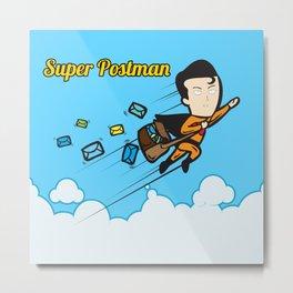 The Super Postman Metal Print