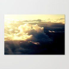 just a sky Canvas Print