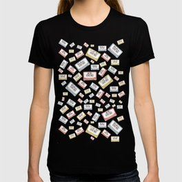 Primary Mixtapes on Black  T-shirt