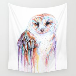 Colorful Owl Wall Tapestry